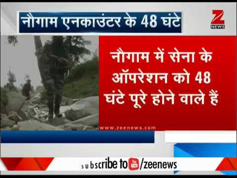 Watch: Bad weather, but Indian Army's search operation continues in Kashmir's Nowgam