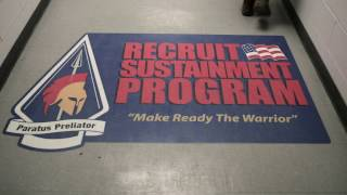 As part of the Recruit Sustainment Program, your goal is to reach G...