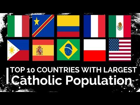 10 ประเทศในโลก ที่มีคาทอลิกมากที่สุด (พากษ์ไทย)