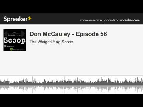 Don McCauley - Episode 56 (made with Spreaker)