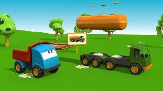 الشاحنة لبيب وناقلة النفط / كرتون عربي للأطفال / التنوين / كرتون سيارات وشاحنات