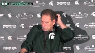 Tom Izzo Press Conference: Previews Duke