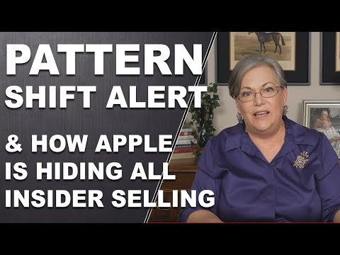 Insider Trading: Pattern Shift Alert, and how Apple is hiding all the insider selling