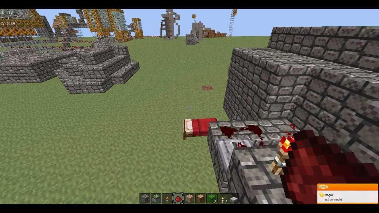 Tuto minecraft: Comment faire un piege sadique pour protéger votre maison - YouTube