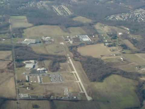 Flying W South Jersey Airport From Above