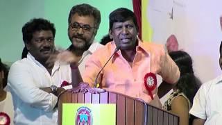 Nadigar Sangam Election - Vadivelu Teasing Radha Ravi and Sarathkumar Team spl hot tamil video news 08-10-2015