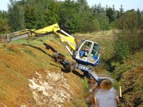 Schreit-Mobil-Bagger, Spider excavator
