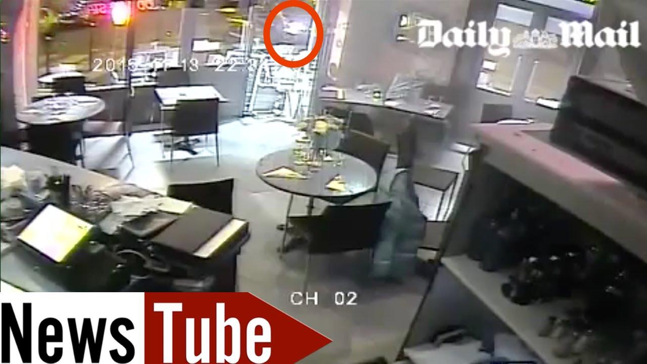 attentats de paris images terrifiantes des cam ras de surveillance d 39 un restaurant d voil es. Black Bedroom Furniture Sets. Home Design Ideas