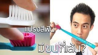 แปรงสีฟันมีขนกี่เส้น x DragCura