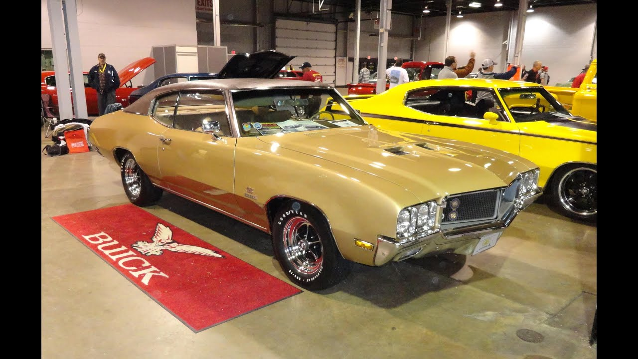 1970 Buick Gran Sport GS 455 Stage 1 With Factory Desert Gold Paint My Car  Story With Lou Costabile