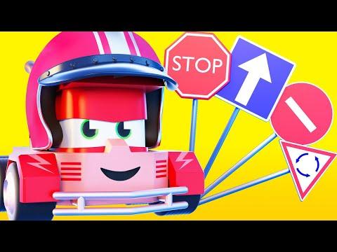 Мультфильмы с грузовиками для детей -  Учим правила дорожного движения - Truck Games