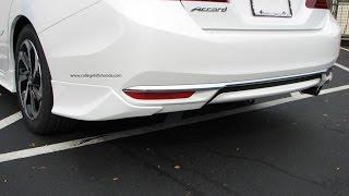 Episode #272 - 2016+ Honda Accord Sedan Rear Underbody Spoiler Installation