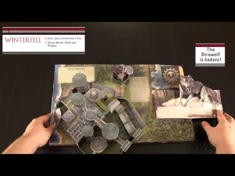 The Game of Thrones: Pop-Up Guide to Westeros Pop-up Review