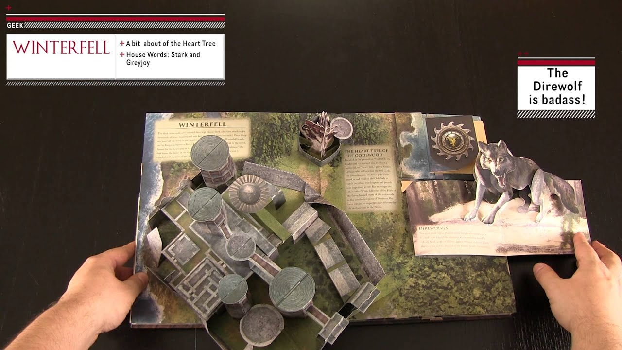 The Game Of Thrones Pop Up Guide To Westeros Review