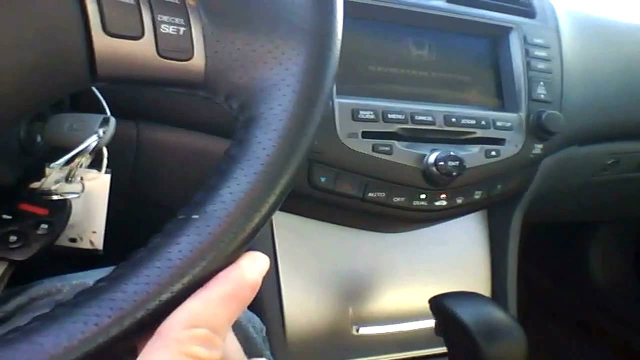 Honda Accord Ex-L >> 2007 Honda Accord Coupe EX-L Quick Tour Start Up & Rev - 48K - YouTube