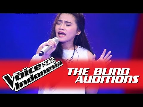 "Dalilah ""Bawalah Cintaku"" I The Blind Auditions I The Voice Kids Indonesia GlobalTV 2016"