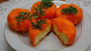 Новые салаты на праздничный стол Простой красивый салат МАНДАРИНКИ