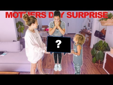 UNEXPECTED MOTHERS DAY SURPRISE!! you wont BELIEVE what SHE GOT!!  Slyfox Family
