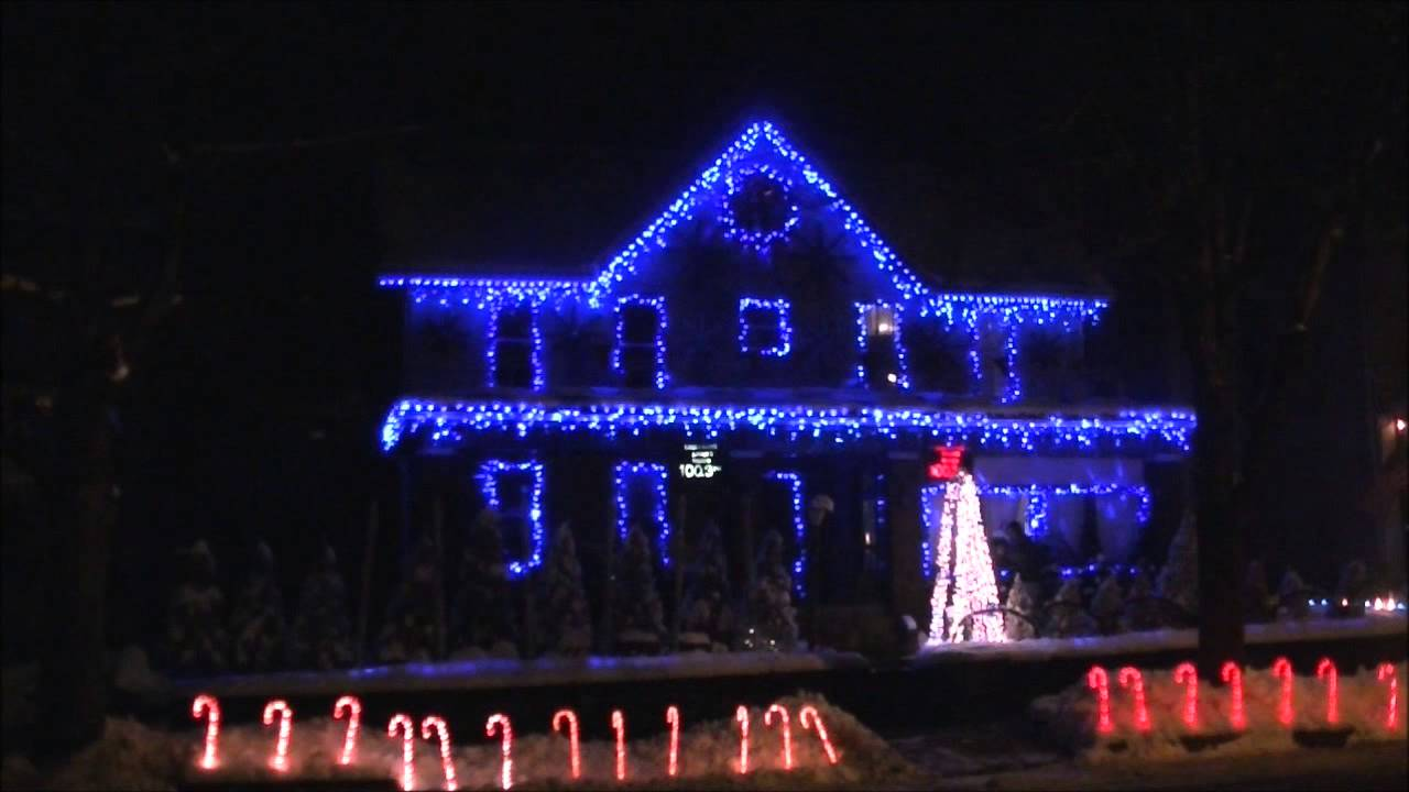 White Christmas Bing Crosby Christmas Lights 2012 - YouTube
