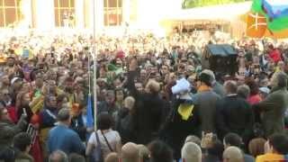 Levée du drapeau kabyle à Paris - Gouvernement Provisoire Kabyle