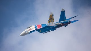 Close encounter: Russian fighter jet 'greets' US Navy aircraft