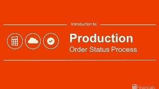 Introduction to Production Order Process