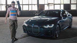 BMW 4 Cерии: Ноздри – ЭТО ЕЩЕ Цветочки!  Первый взгляд на BMW 4 Series 2021 (G22)