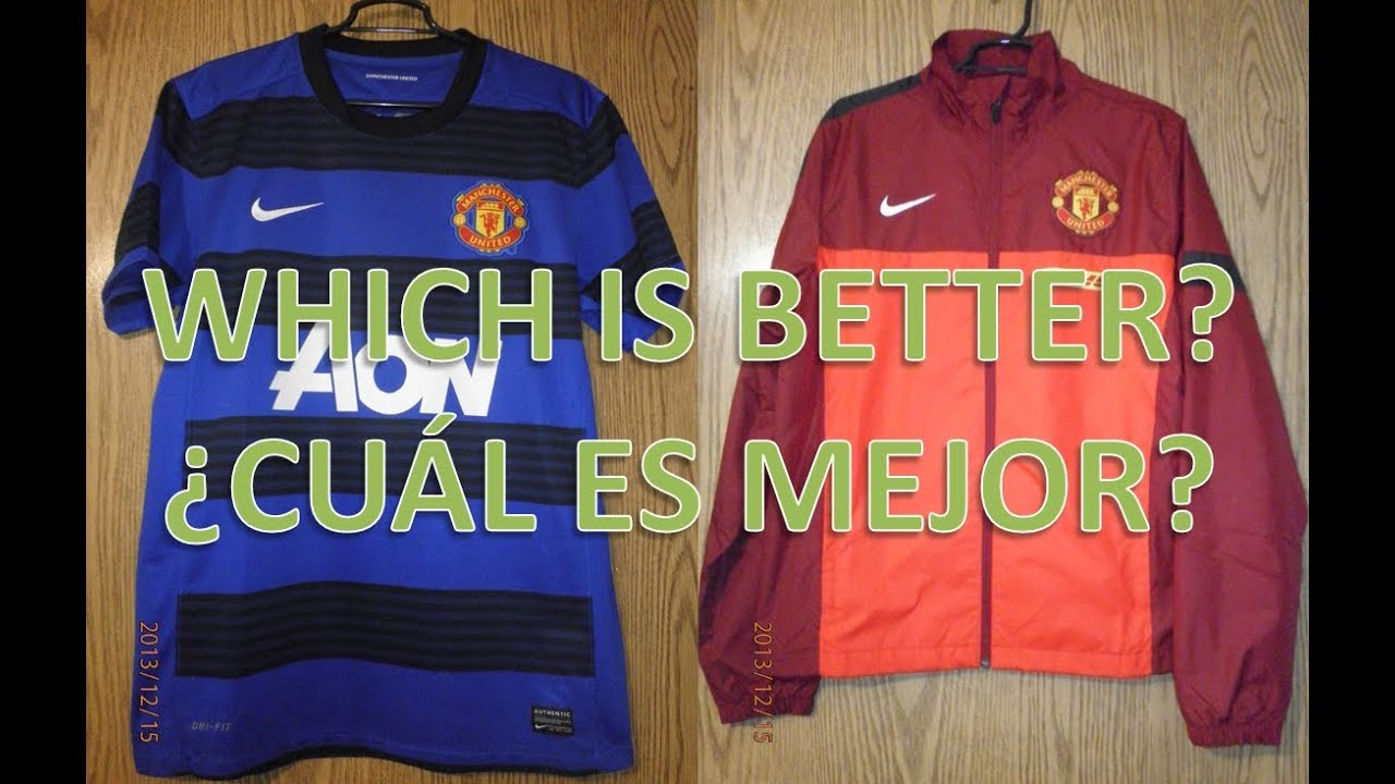 buy online 3f7ca 0f30f Nike Manchester United Away Jersey 2011 and Manchester United Jacket 2012