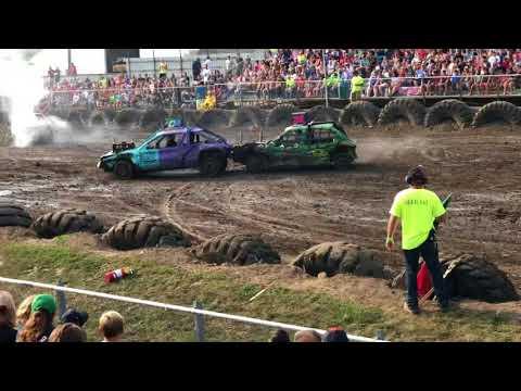 Goodhue County Fair Zumbrota Saturday Night 2018 Mighty Midsize.