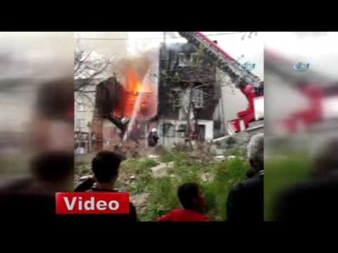 Beyoğlu'nda yangın!