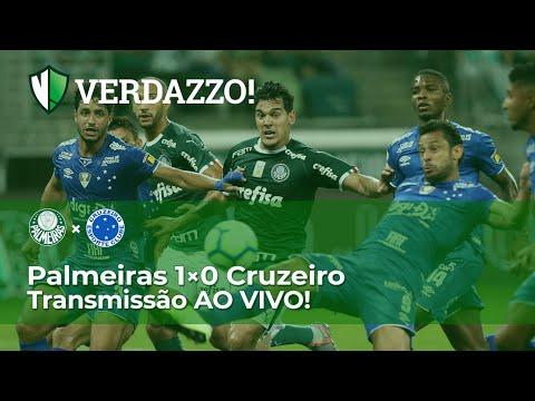 Palmeiras X Cruzeiro - Campeonato Brasileiro 2019 - TRANSMISSÃO AO VIVO!