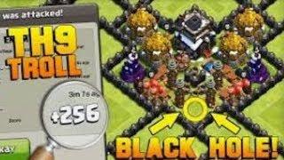 TH 9 Troll Base- Clash of Clans