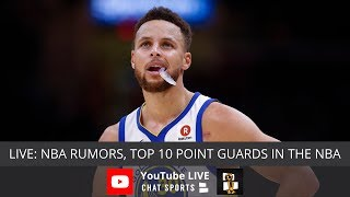 NBA Rumors, Lakers Rumors, Top 10 Points Guards For This Season, LeBron Opens A School