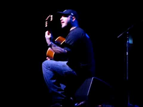 Aaron Lewis (Staind) Borgata - Music Box - Atlantic City 14/2/09 'Outside'   [Unplugged]