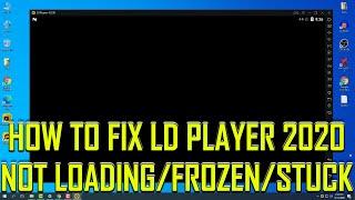 LDPlayer Blank Screen 2020 Fix Guide Resimi
