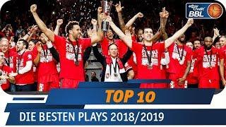 Die besten Plays 2018/19   MagentaSport Top 10   easyCredit Basketball Bundesliga