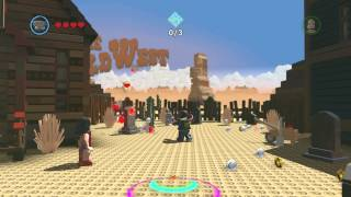 The LEGO Movie Video Game - Robo SWAT Rocket Gameplay and Unlock Location