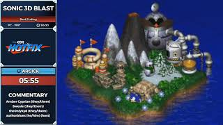Sonic 3D Blast by Argick in 47:18 - Sonic and the Shiny Things