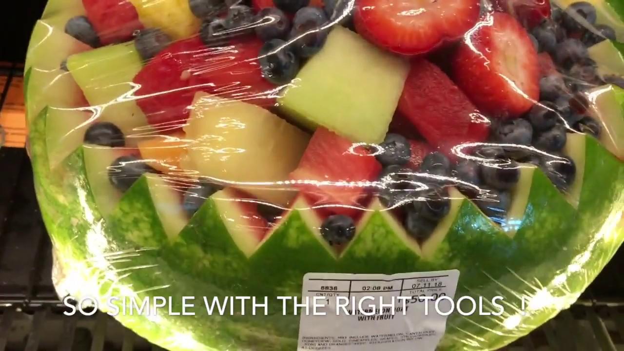 Watermelon Fruit Bowl Ideas