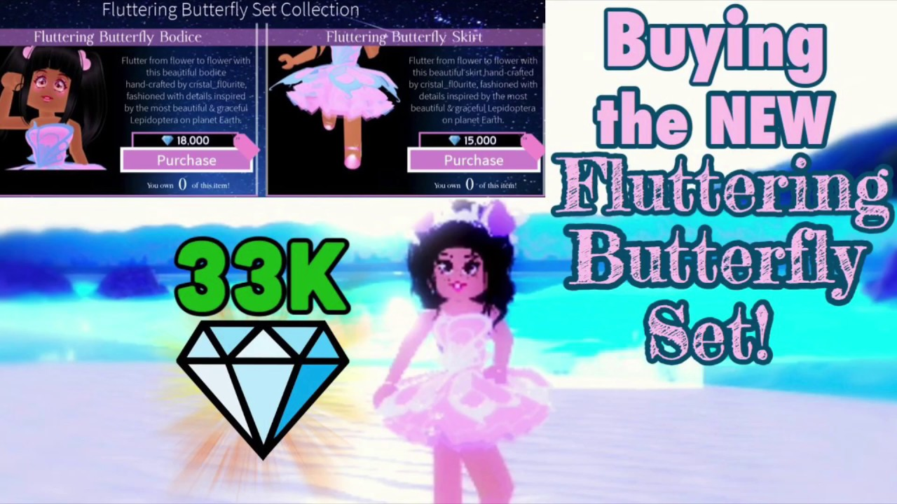 AMAYA Secretly Bought The FLUTTERING BUTTERFLY SET With HER MOMS MONEY!