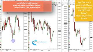 101717 -- Daily Market Review ES CL GC NQ - Live Futures Trading Call Room