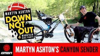Martyn Ashton's E-Go Equipped Canyon Sender CF –As Used In Down Not Out