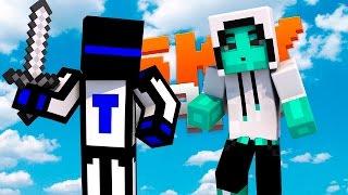 Minecraft Sky Wars Без модов : Багнутый эндер пёрл #113