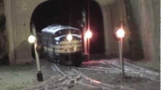 22 x 7 Custom HO Train Layout