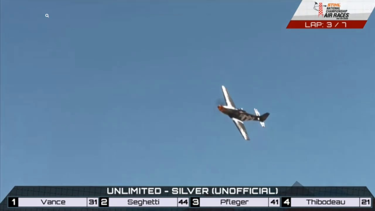 Unlimited Race (Silver) 9-16-2018 - Reno Air Races 2018