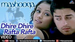 Kumar Sanu & Alka Yagnik   Dhire Dhire Rafta Rafta Full Video Song   Mashooka - Bappi Lahiri
