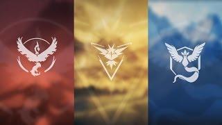 Выбор фракции в Pokemon GO | Яйцо за 2км