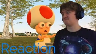Riley Welch Reaction SMG4: Mario Goes to the Fridge to Get a Glass Of Milk