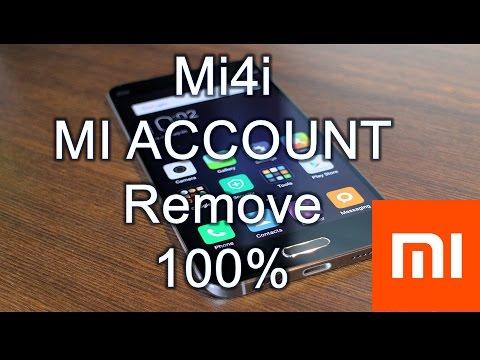 XiaoMi Mi4i (2015015) MI ACCOUNT Remove/BYPASS DONE! 100% working