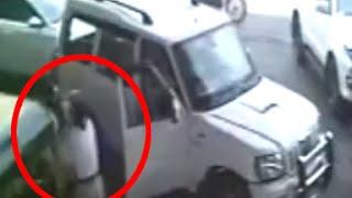Full Video | Shiv Sena man slaps, rains punches on female traffic cop in Thane, Maharashtra